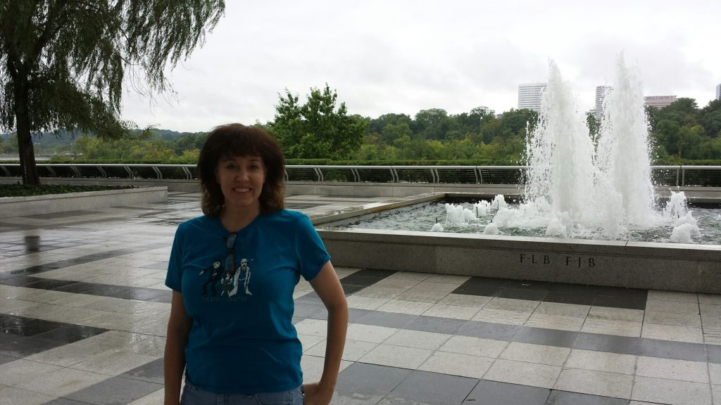 mom at kennedy center