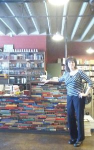 pic of Janette in book store