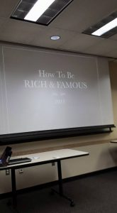 rich and famous class