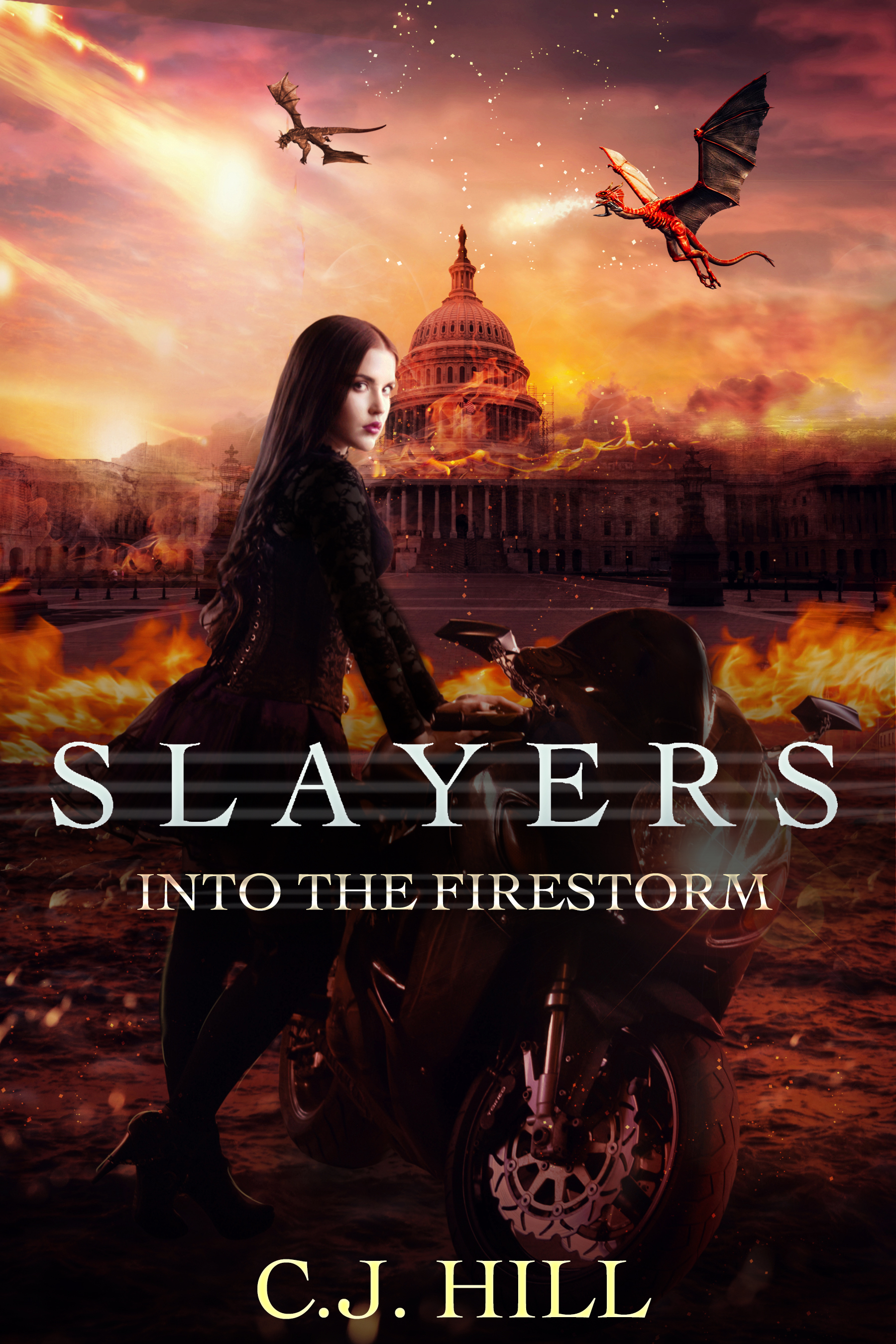 Slayers Into the Firestorm