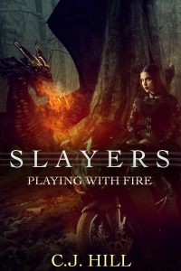 Slayers Playing with fire darkened